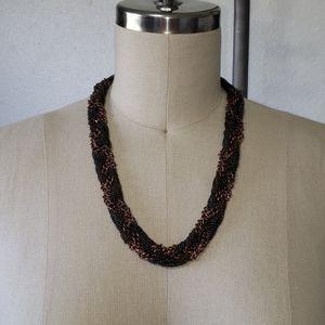 ANN TAYLOR LOFT braided chainmaille neckla…